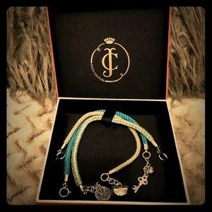 Juicy Couture bracelets.